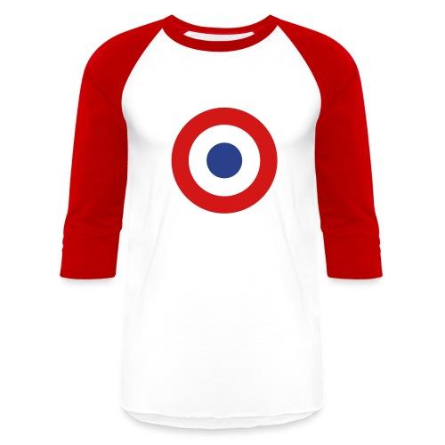 France Symbol - Axis & Allies - Unisex Baseball T-Shirt