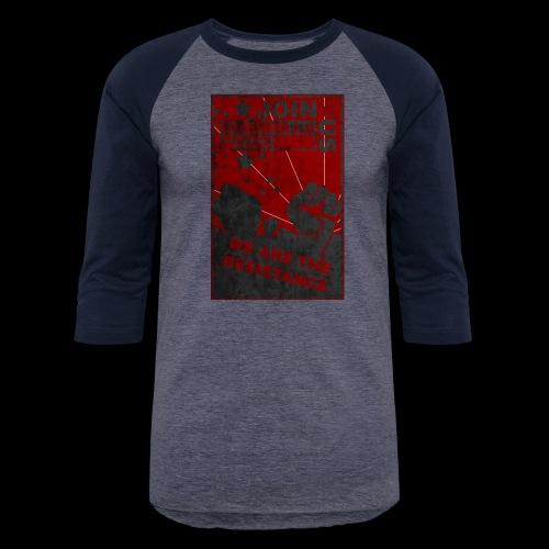 GMG Resistance Poster - Baseball T-Shirt