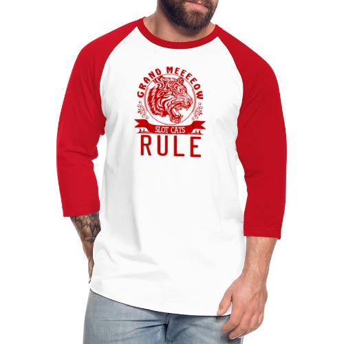 The Grand Meow - Unisex Baseball T-Shirt