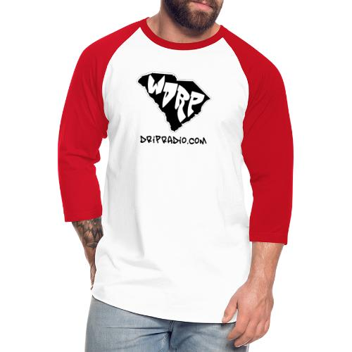WDRP Drip Radio - Unisex Baseball T-Shirt