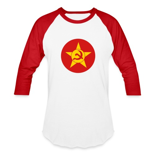 Soviet Union Symbol (dark) - Axis & Allies - Unisex Baseball T-Shirt
