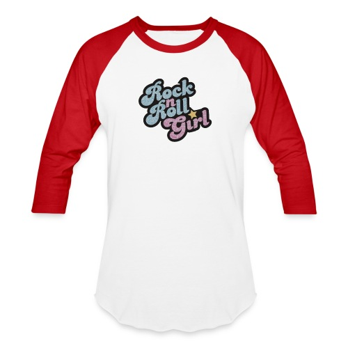 Rock n Roll Girl - Baseball T-Shirt