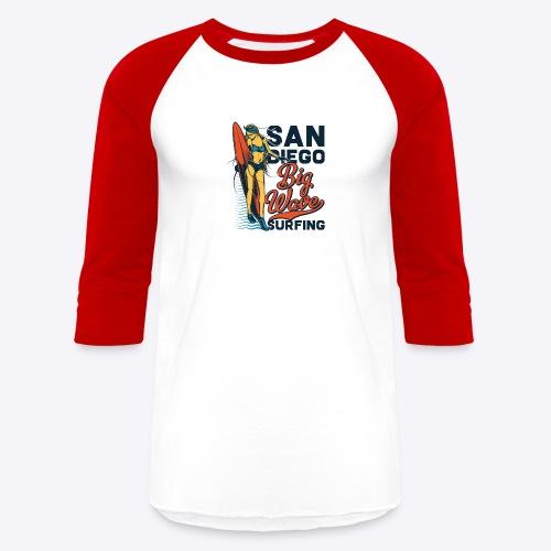 05 surf 6 - Baseball T-Shirt