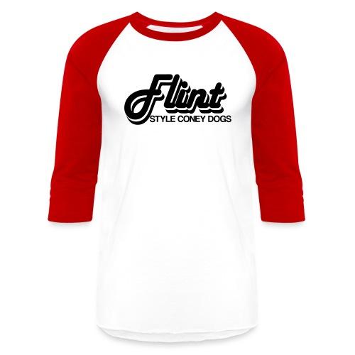 Flint Style Coney Dogs - Baseball T-Shirt