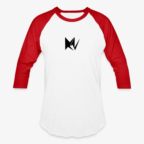 NK Transparent Black Logo - Baseball T-Shirt