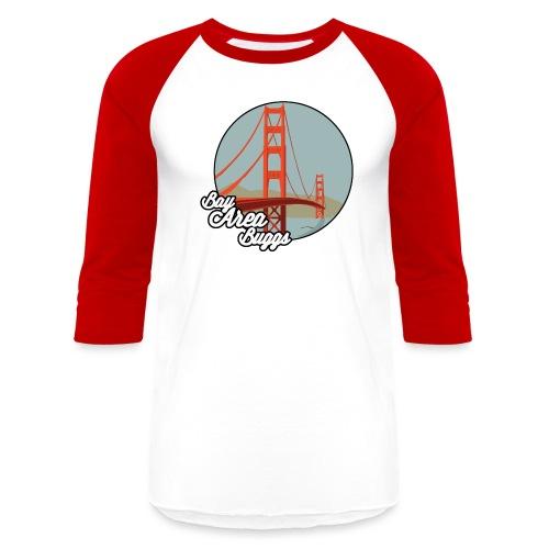 Bay Area Buggs Bridge Design - Unisex Baseball T-Shirt