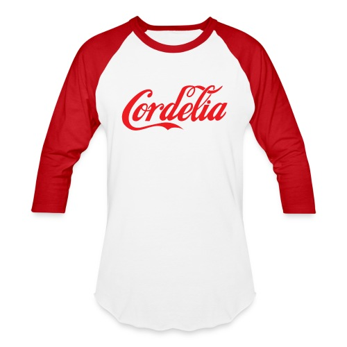 Cordelia Red - Baseball T-Shirt