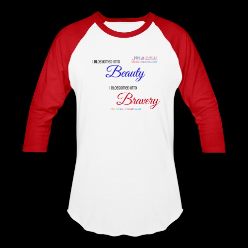 Blossom Bravery Merch - Baseball T-Shirt
