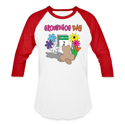 Groundhog Day Dilemma - Baseball T-Shirt