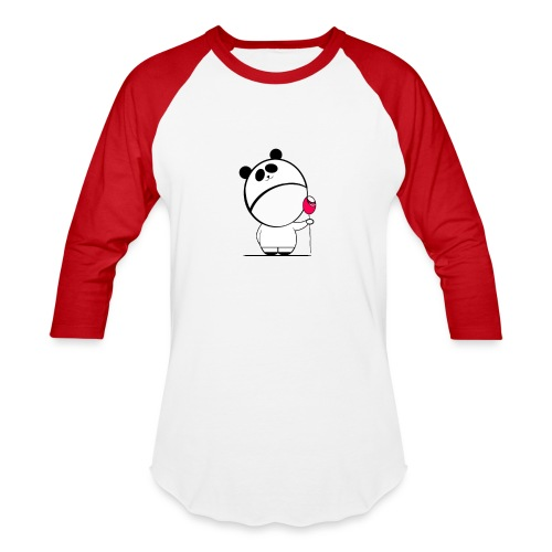 Sweet Baby Boy Panda - Baseball T-Shirt