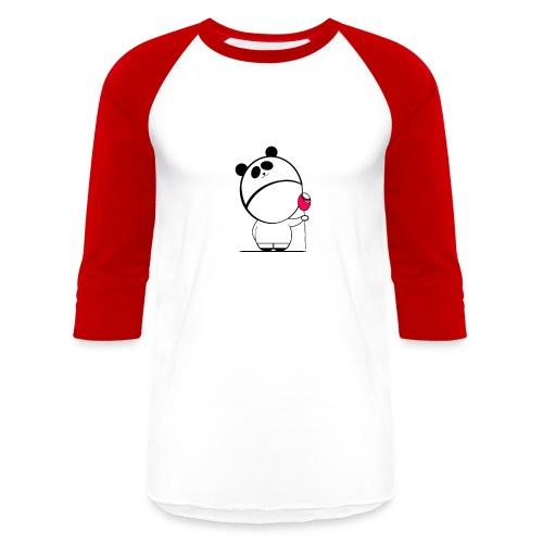 Sweet Baby Boy Panda - Baseball T-Shirt