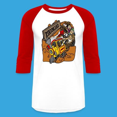 Wild West Mine Train - Unisex Baseball T-Shirt
