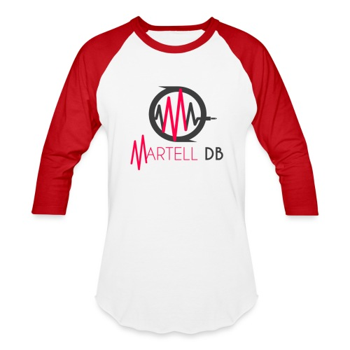 Martell DB primary logo - Baseball T-Shirt