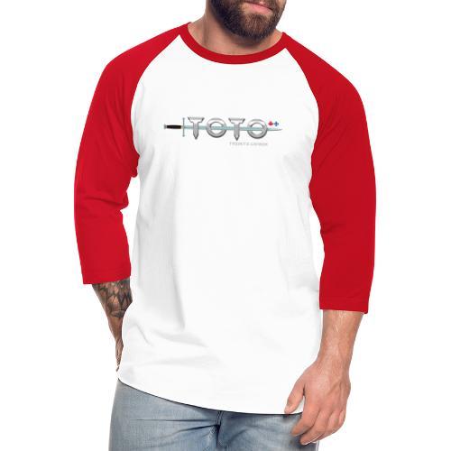 TOTO Tribute Canada (Black Name) - Unisex Baseball T-Shirt
