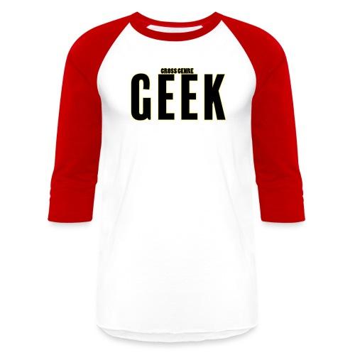 geek - Baseball T-Shirt