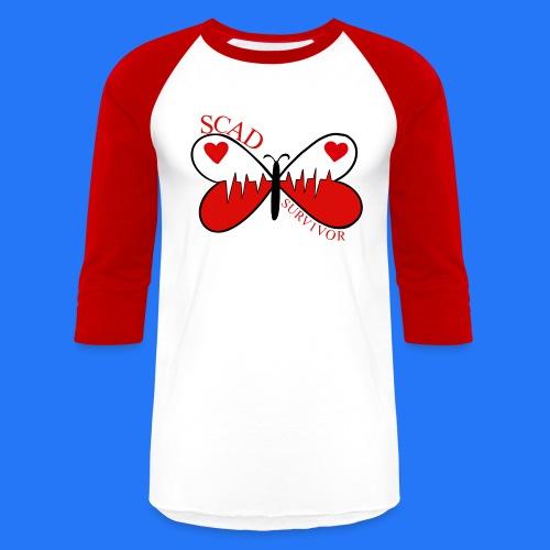 Glugla butterfly - Baseball T-Shirt