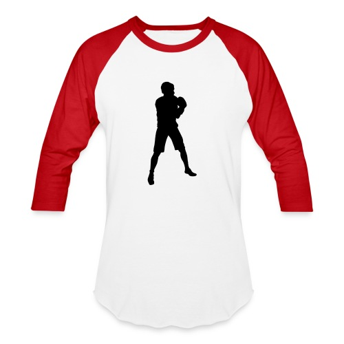 FIF Men Full Body Fighter Design - Baseball T-Shirt
