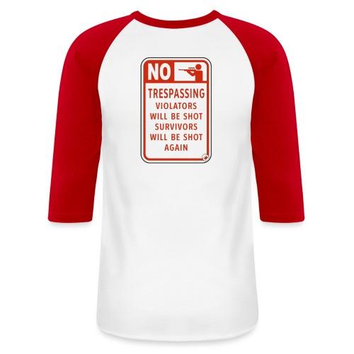 scary fun - Unisex Baseball T-Shirt