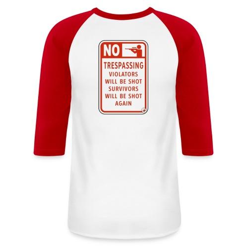 scary fun - Baseball T-Shirt