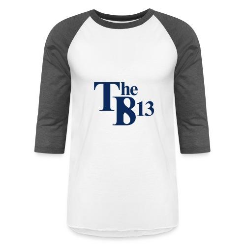 TBisthe813 BLUE - Baseball T-Shirt