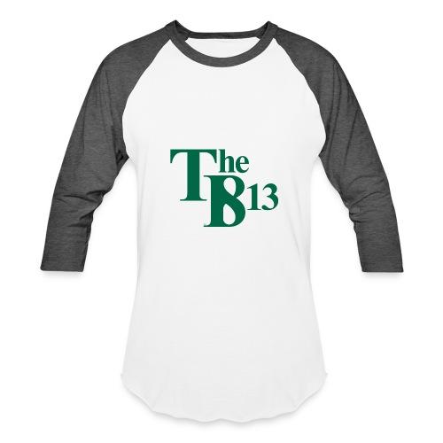TBisthe813 GREEN - Baseball T-Shirt