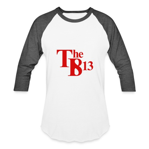 TBisthe813 RED - Baseball T-Shirt