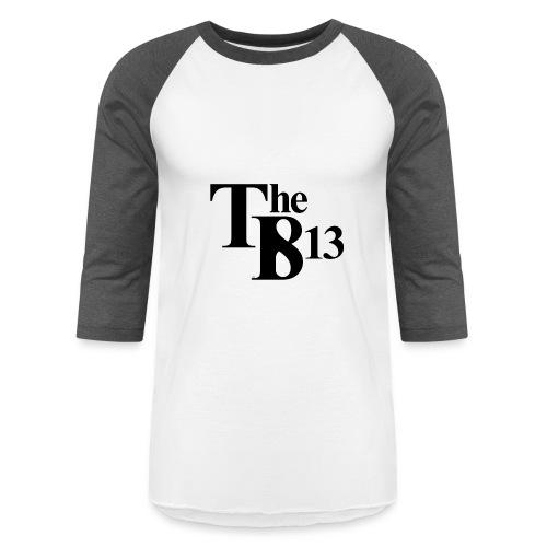 TBisthe813 BLACK - Baseball T-Shirt