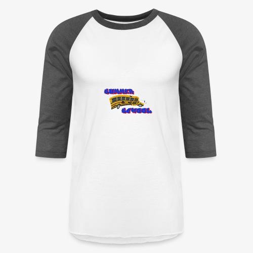 SummerSchoolLOGO - Baseball T-Shirt