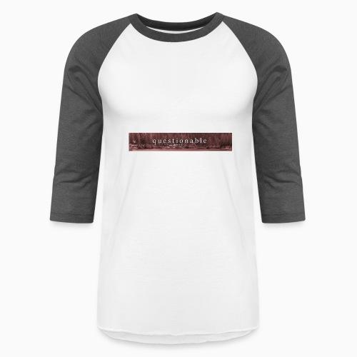 2017-10-13 limited first drop - Baseball T-Shirt