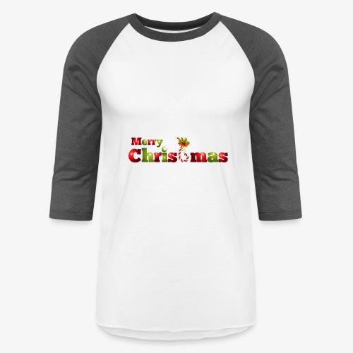 merry christmas - Baseball T-Shirt