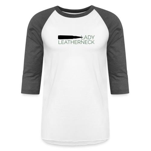 Lady Leatherneck - Baseball T-Shirt