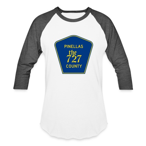 Pinellas the727 County tee - Baseball T-Shirt