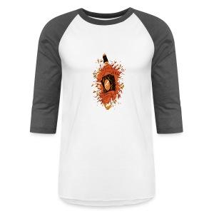 Broken Liquor Bottle - Baseball T-Shirt