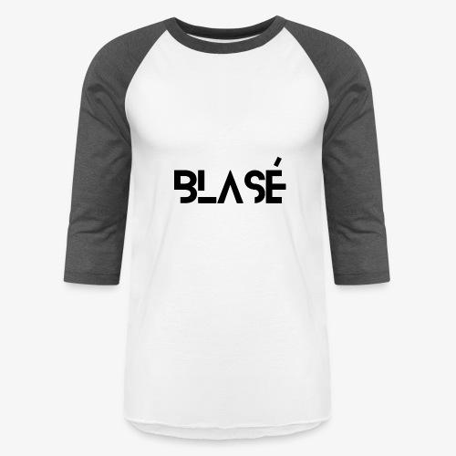 Logo Blase Negro - Baseball T-Shirt