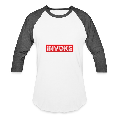 Red Logo - Baseball T-Shirt