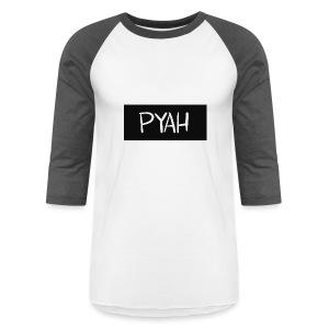 PYAH Box Logo - Baseball T-Shirt