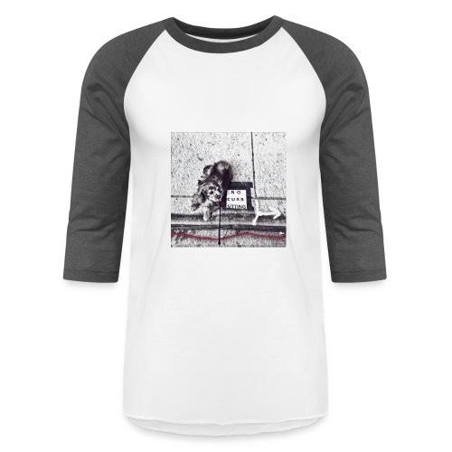No Curb Sitting - Baseball T-Shirt