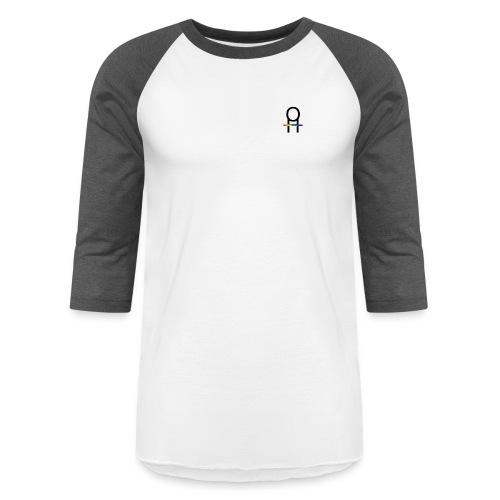 Ohana Hugs small logo - Baseball T-Shirt