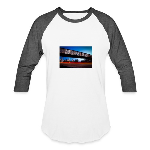 Husttle City Bridge - Baseball T-Shirt