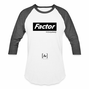 Factor Completely [fbt] - Baseball T-Shirt