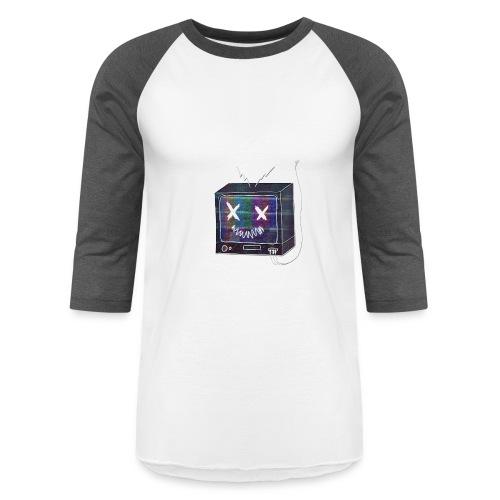 BrokenTelevision - Baseball T-Shirt