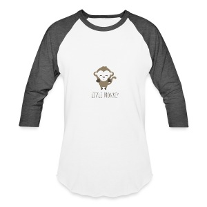 Little Monkey - Baseball T-Shirt