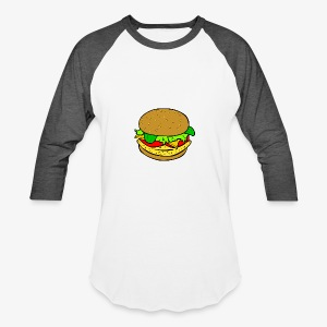Comic Burger - Baseball T-Shirt