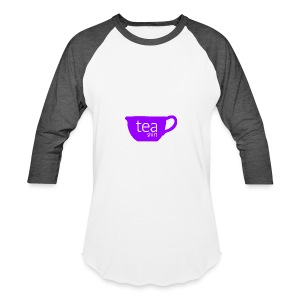 Tea Shirt Simple But Purple - Baseball T-Shirt