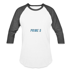 Prime 5 Text Logo - Baseball T-Shirt