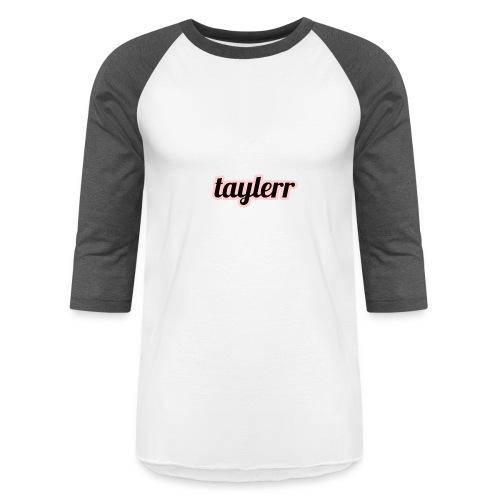 Taylerr Brand Bold Logo // 2nd collection // - Baseball T-Shirt