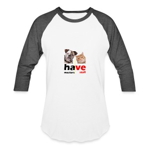 Dog & Cat - Baseball T-Shirt