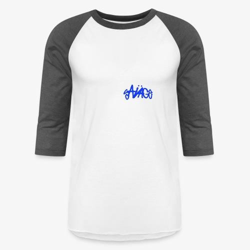 Savage Blue - Baseball T-Shirt