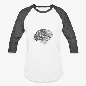 Brain Illustration - Baseball T-Shirt