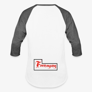 Forevayung on back - Baseball T-Shirt